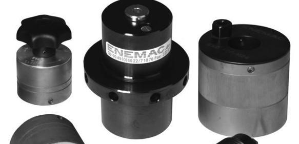 Spannelemente von Enemac: Werkstücke kontrolliert spannen