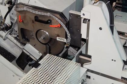 Kreissägeautomat: Rohre präzise sägen