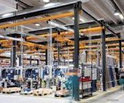 Aluminium Kleinkransystem: Weniger ist mehr
