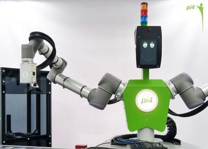 Hochflexibler Industrieroboter mit integrierter Bildverarbeitung: Arbeiten ohne Missverständnisse