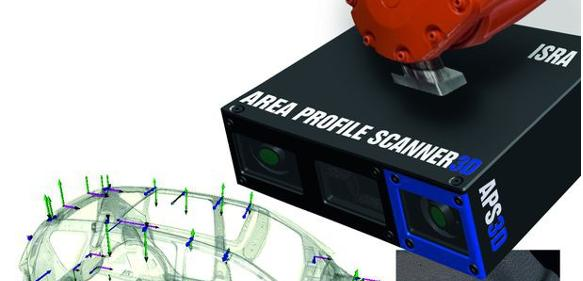 Area Profile Scanner 3D: Three technologies, one solution