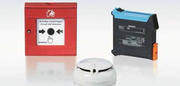 Siemens Brandmeldesystem