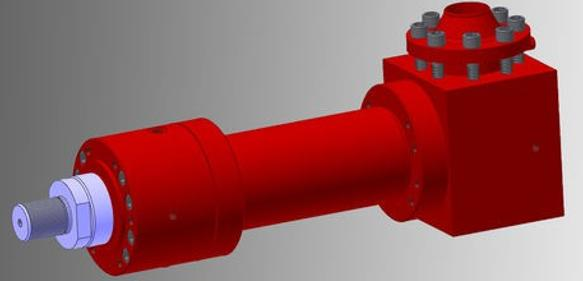 Turbo-Hydraulikzylinder von Hydropneu