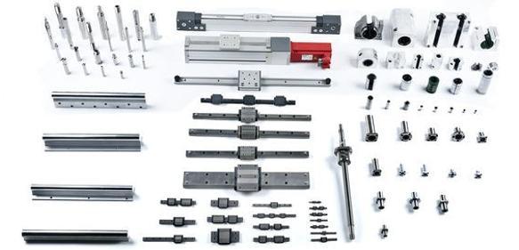 Portfolio von Minitec: Präzisionswellen, Schienenführungen, Antrieben sowie Linearmodulen