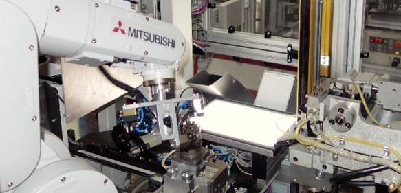 Robotergestützten Herstellung von Signalleuchten