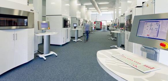 Rapid Prototyping: Die 3D-Printer Fabrik