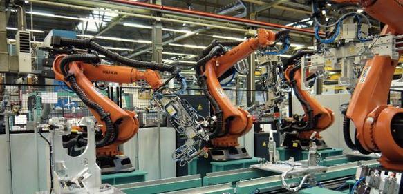 Mehrroboter-Anlage