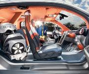 Schweizer Concept-Car: Der Roboter sitzt am Steuer