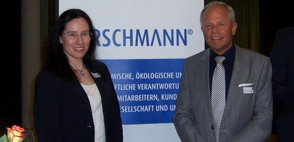 Kirsten Hirschmann und Dr. Hans-Jürgen Bigus