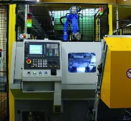 Automation der Maschine