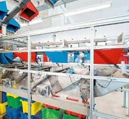 Versandapotheke automatisiert den Wareneingang: Pillen im Schnelldurchgang