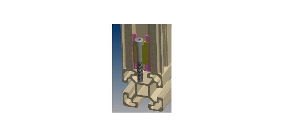 Winkelprofilverbinder