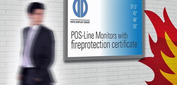 Brandlast-optimierte Monitore