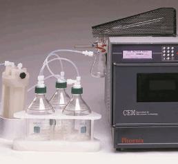 Sulfat-Veraschungssystem Phönix SAS