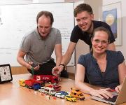 Informatiker-Trio vom Hasso-Plattner-Institut