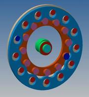 Koaxiale Exzentergetriebe