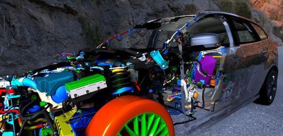 Virtuelle Techniken im Automobilbau