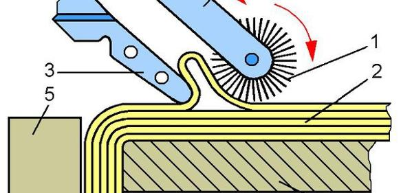 Greifer für textile Gebilde