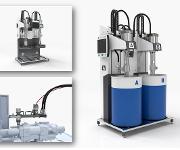 Mehrkomponenten-Dosiersystem für Zweikomponenten-Flüssigsilikonkautschuke (LSR)