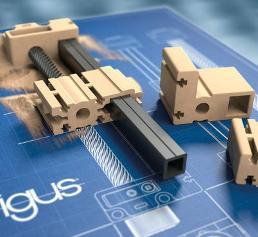 Traversen aus dem 3D-Drucker: Lineartische in Sekunden montieren