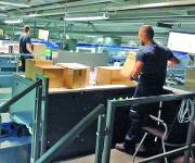 Palettier- und Kommissionier-Arbeitsplatz