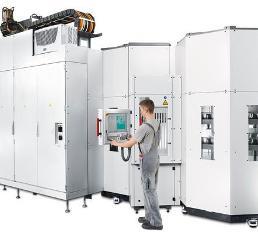 5-Achs- Bearbeitungszentrum C 52 U mit Hebofix-System