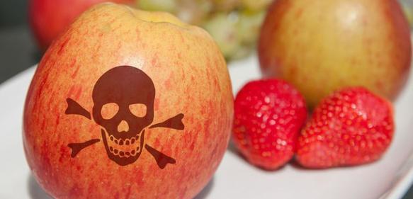 Pestizid-Rückstände