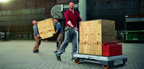 Mobiles Transport- und Beladesystem