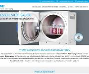 The Autoclave Company: Systec mit neuer Webseite