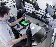 Industriearbeitsplatz der Zukunft