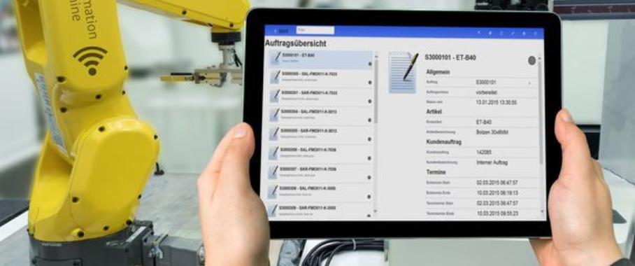 Mobile MES-Anwendungen mit Hydra von MPDV