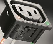 IEC-Geräte-Einbausteckdosen