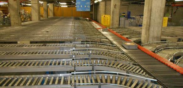 Sorteranlage mit 40 Bahnhöfen