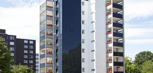 Innovative Fassadenform