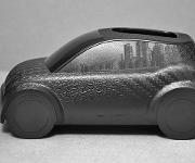 Auto mit Hochglanzoberflächen