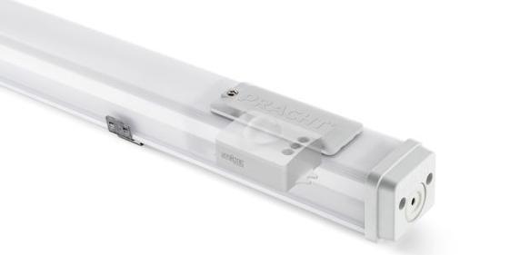 Leuchte mit integriertem Sensor