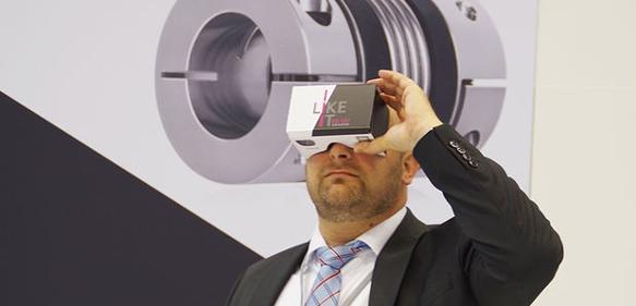 Kupplung in der Virtual Reality