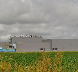 Standort mit zwei Reinräumen für die Kunststoff- und Pharmaproduktion