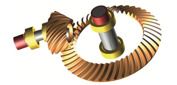 Modellierte Getriebe