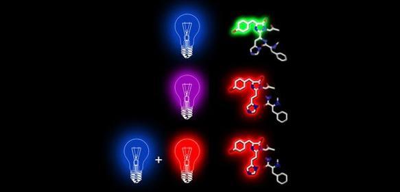 Rote Fluoreszenz