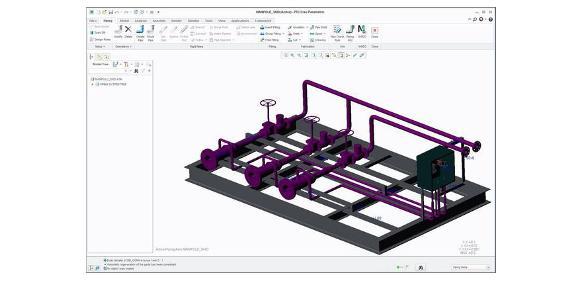 Isometrie-Software für PTC Creo Piping