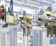 Beladegreifer mit einer Schnittstelle zur Vero-S-NSR-Roboterkupplung
