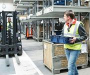 Assistenzsystem Linde Safety Guard verhindert Unfälle