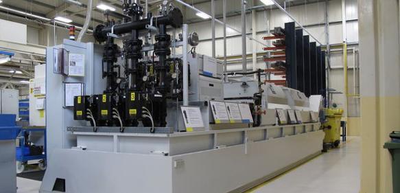 Kühlmittelpumpen: Spandau Pumpen verbessert KSS-Versorgung in SKF-Werk