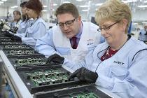 Produktion des Raspberry Pi