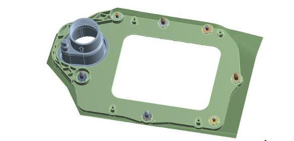 2-Komponenten-Bauteil aus einem Hochleistungs-PP-Compound und TPE
