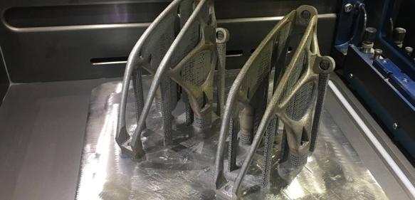 3D-Druck von Metallbauteilen
