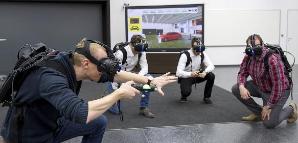 Audi testet Virtual Reality Holodeck