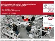 Prozesslernfabrik in Progress: Kennenlernen der Workshops