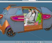 Links&Go autonomes Fahrzeug